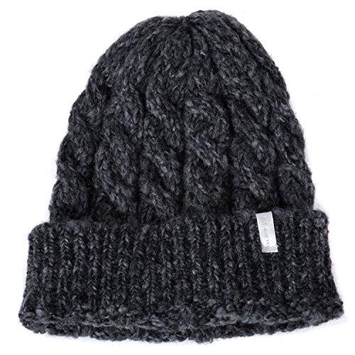 Casualbox unisexe hiver bonnet tricoter chapeau chaud tous les jours (casual) mode bonnet tombant tricoté (slouchy) bouffant
