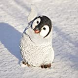 nanook Gartenfigur Tiere - Handbemalt, Wetterfest, Material: Kunststein (Polyresin) - Figur Pinguin