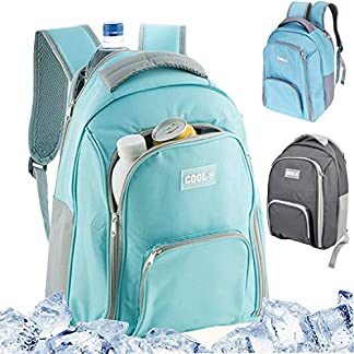 GEEZY 12 L Insulated Cooling Backpack Picnic Camping Rucksack Beach Ice Cooler Bag 10