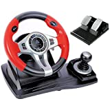 Logic3 PXU450 TopDrive GT450 Multiformat Steering Wheel for PS3, PS4, XBox One