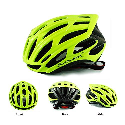 Modelshow - Casco para bicicleta de ciclismo/carretera/montaña, hombr