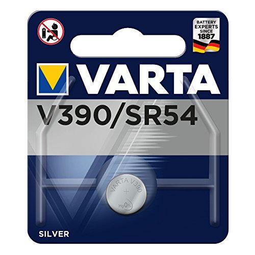 Varta V 390 1,55 V 80 mAh batterie pour une heure or