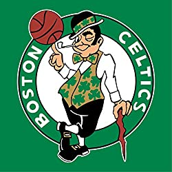NBA Boston Celtics Escudo de pared Pegatina Vinilo 60 cm x 60 cm grande (700 x 600 x 600 mm)