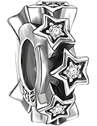 Soufeel Stern Stopper Charm 925 Sterlingsilber