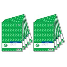 Sigel AU525 Duplicate Order Book A5 2X 50 Sheets with Carbon Paper Pack of 10