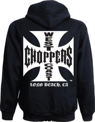 WEST COAST CHOPPERS -  Felpa con cappuccio  - Uomo nero L