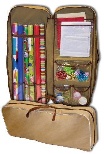 master-craft-gift-wrap-storage-bag-tan-by-master-craft