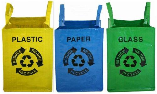 *Proteam Recycling-Taschen, 3er-Set*