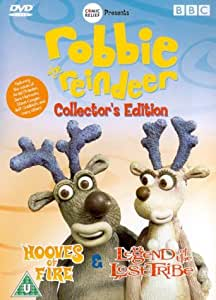 Robbie The Reindeer Collector's Edition - Hooves of Fire/Legend of the Lost Tribe [DVD]