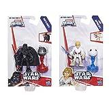 Playskool Heroes Galactic Heroes Star Wars Luke Skywalker & Darth Vader Set
