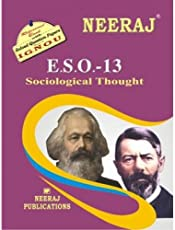 ESO13-Sociological Thought (IGNOU help book for ESO-13 in English Medium)