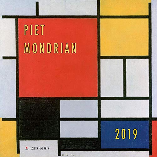 Piet Mondrian (not to be sold in Spain) 2020: Kalender 2020 (Tushita Fine Arts)