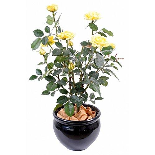 arbuste artificiel rosier lady - h : 65