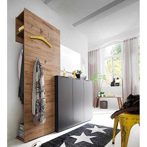 Garderobe, Garderobenschrank, Garderoben-Set, Flurgarderobe, Garderobenmöbel, Dielenmöbel,...
