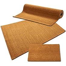 Zerbino in fibra di cocco, casa pura ® colore: naturale/fibra di cocco naturale, effetto/detergente elevato spessore, 24 mm, 3 misure, Naturale