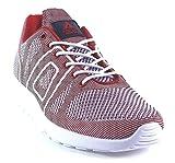 ASFVLT - Super Yarknit - Sneaker - rot , Farbe:rot;Größe:44