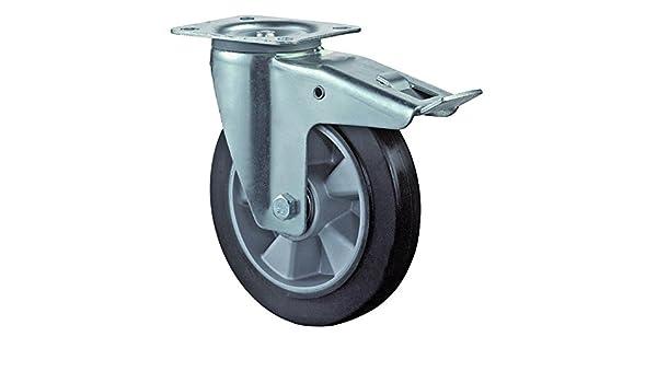 220 kg Breite: 45 mm /Ã/˜ 200 mm No Name Gummirad
