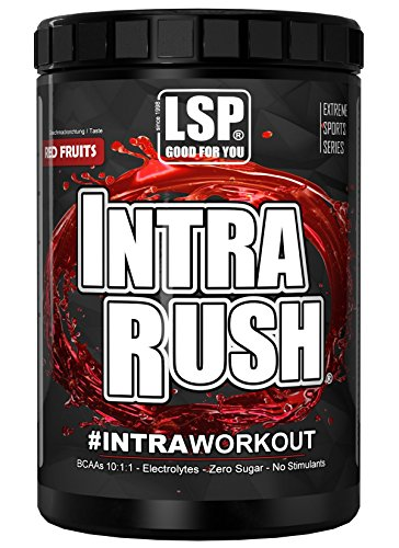 LSP INTRA WORKOUT SHAKE INTRA RUSH® Red Fruits 1.000g