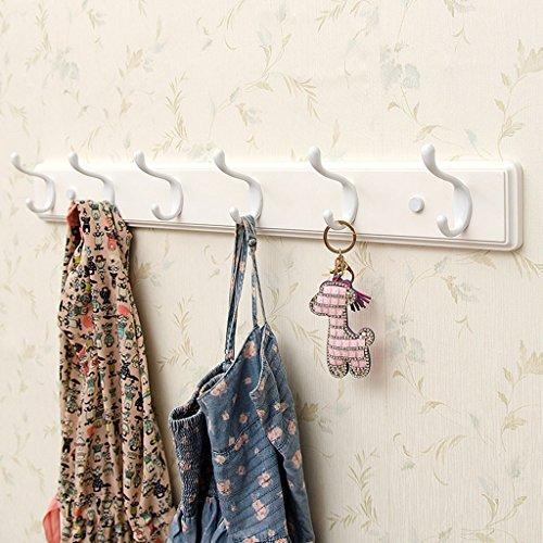 Kleiderbügel - Hook Wand Kleiderbügel Haken Kleiderständer Creative Wall Hanger (größe : (74cm) 6 Hooks)