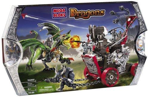 Mega Bloks Carro De Asedio Dragons