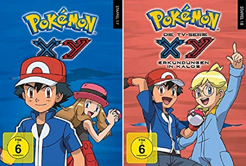 Pokémon Staffel 17+18: XY [DVD Box Set] Pokemon