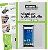 dipos I 2X Schutzfolie matt passend für Oukitel K5000 Folie Bildschirmschutzfolie