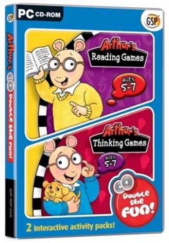 Arthur's Double the Fun Pack: Arthur's Reading Games / Arthur's Thinking Games (PC) Test