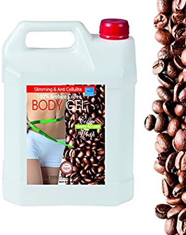 Inch-loss Body Coffee & Seaweed Wrap in Gel 1000ml ● Ready-to-Use Gel for Body and Bath ● Anti Cellulite ● Body Wrap Contour Treatment ● Helpful in treating Dermatiitis and Eczema. ● Detox, Slimming and Remineralizing Body Wrap ● Tummy Waist ● Fine and nice smelling GEL, ● SPA and In-Home treatment by bleumarine Bretania