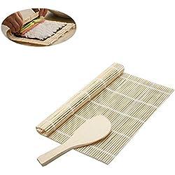 toruiwa Kit di sushi Stampi strumento Tappeto a Sushi cullière per DIY Cucina Sushi Maker