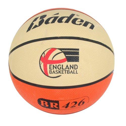 Baden Rubber Replica - Pelota de baloncesto, tamaño 6, color tan & cream