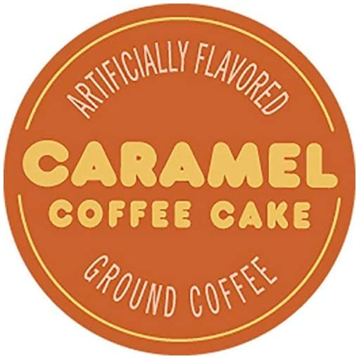 Dunkin' Donuts Bakery Series Caramel Coffee Cake Flavoured Ground Coffee – American Imported Roasted Kaffee, 311 Grams (11 Oz.) Per Bag 2-Pack