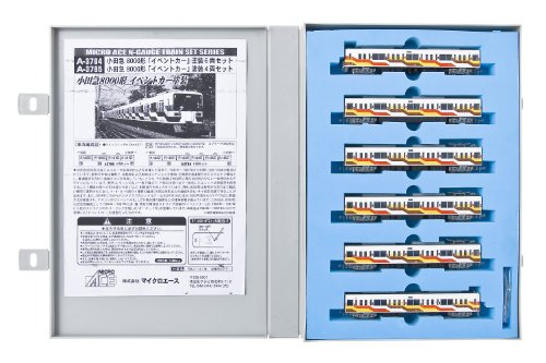 Odakyu Type 8000 [Gallery-Go] (6-Car Set) (Model Train)