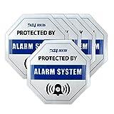 SO001- 5 x/viel Sicherheit Überwachung GSM Alarm System Diebstahlsicherung Einbrecher Wasserdicht Blau Aufkleber Warnschild Aufkleber