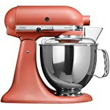 KitchenAid 5KSM150 - Robot de cocina (Terracotta, Acero inoxidable, 50/60 Hz)