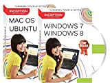 #2: Inception India Learn Windows 7, Windows 8, Ubuntu, MAC OS - Operating Systems (2 CDs)