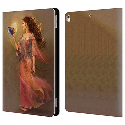 Offizielle Renee Biertempfel Botschafter Jungfrau Brieftasche Handyhülle aus Leder für Apple iPad Pro 10.5 (2017)