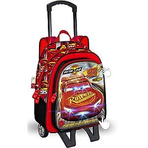5196gOHiggL. SS300  - Mochila con Ruedas Disney Cars Rojo 42 cm. Toybags 2018