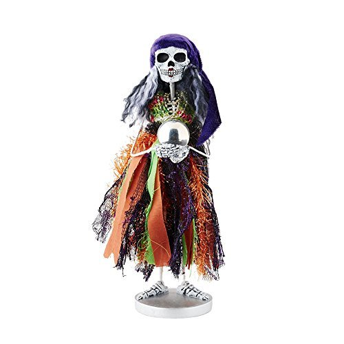 Department 56 Halloween Skeletons Fortune Teller Skeleton Figurine, 12 by Department 56
