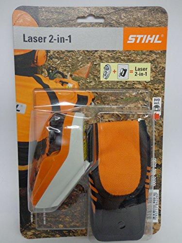 Stihl Laser 2-in-1 ohne Halter für Motorsägen, Fällrichtungsanzeiger und Ablänghilfe