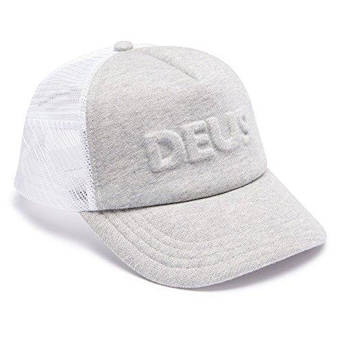 Deus Trucker Cap Main Range DMP77493-GRM-OS Grey Marl, Size:ONE Size (Deus Ex Machina)