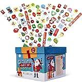 THE TWIDDLERS 100 Jouets de Noël pour Pochette-Surprise - Cadeau de Fête de Noël et Prix pour Les Enfants