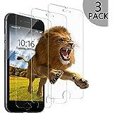 Wsky iPhone 6S 6 Panzerglas Schutzfolie, 3 Stück Displayschutzfolie für 4,7 Zoll, 9H Härte 3D Touch Kompatibel, Anti-Fingerabdrücken (3 Stück)