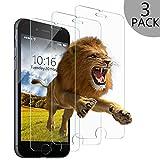 wsky Panzerglas Schutzfolie für iPhone 6/6S [3 Stück], 9H Härte, 3D Touch kompatibel Panzerglasfolie, HD Anti-Kratzer Anti-Fingerabdruck-Displayschutzfolie(4,7 Zoll)