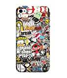 Inktree® Designer Printed Soft silicone Back Case Cover For Apple Iphone 5 /