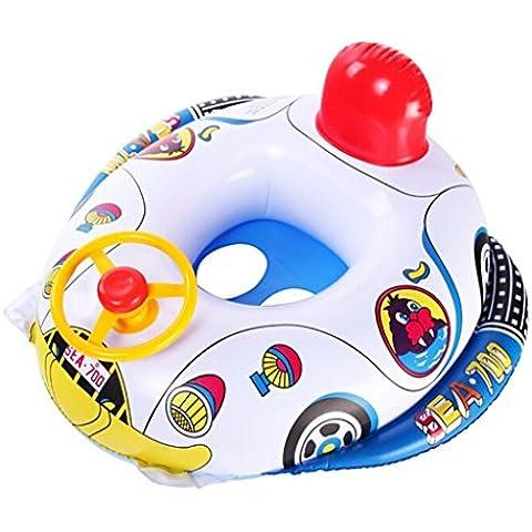 Flotador inflable del asiento de coche de bebé Piscina Barco