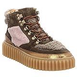 Voile Blanche | Eva Hike | High Top Sneaker - Grün | Bronzo-Militare, Farbe:Grün;Größe:39