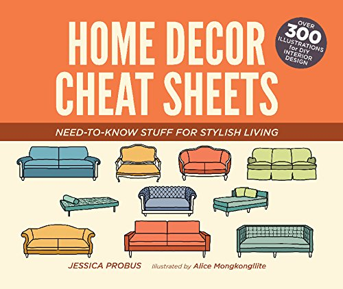 Home Decor Cheat Sheets: Need-to-Know Stuff for Stylish Living (English Edition)
