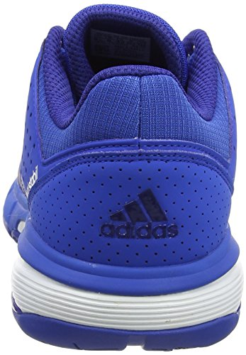 adidas Court Stabil, Chaussures de Handball Homme, Rouge, 46 2/3 EU Multicolore (Blue/ftwr White/mystery Ink F17)