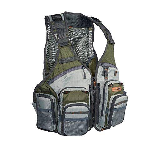 Anglatech Fliegenfischen Weste Pack für Forellen Angeln Gear und Equipment, Größe verstellbar für Damen und Herren