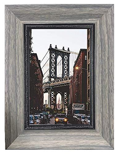 Harmony Frames Holz Design Bilderrahmen Galerierahmen Wandmontage Tischplatte Elegante Serie 4x6 Muted Grey Serie 4x6